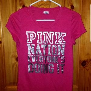 Price Drop Victoria Secret shirt women's S pink